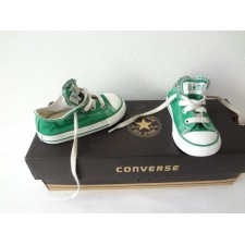 TODDLER SIZE 5 GREEN LOW TOP