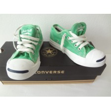 YOUTH SIZE 11.5 GREEN JACK PURCELL LOW TOP